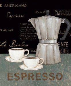 Moca e tazzine del caffè