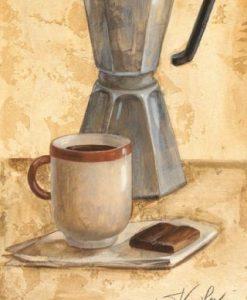 Moca e tazzina di caffè