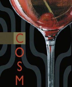 Bicchiere di un cocktail: Cosmo