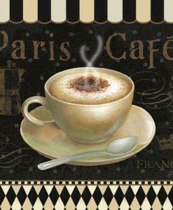 Cappuccino caldo parigino