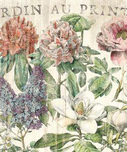 Illustrazione vintage fiori primaverili