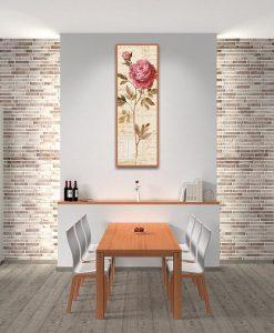 Ambientazione Rosa decorativa