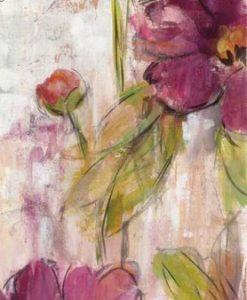 Schizzo di fiori color magenta