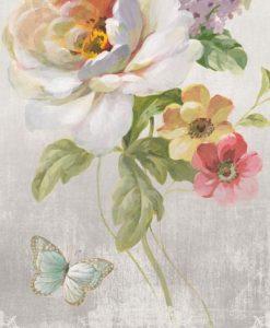 Fiori decorativi su tessuto