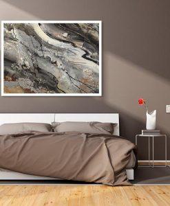Dipinto che richiama la venatura dei minerali