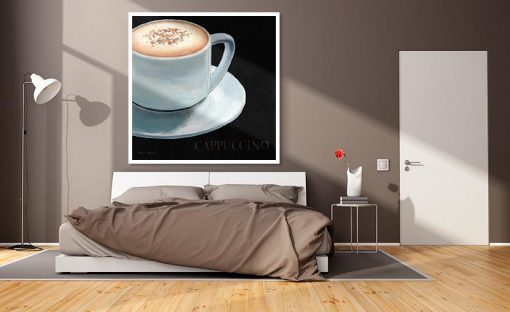 Tazza di cappuccino