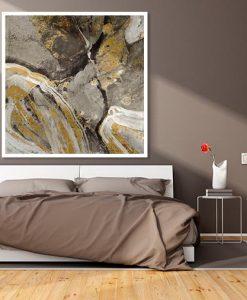 Ambientazione camera Venatura del marmo