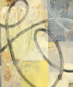 Striscia grigia su uno sfondo di quadrati di diversi colori
