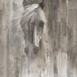 Dipinto astratto di un cavallo