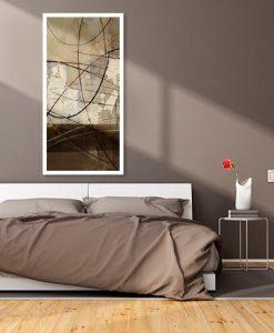 Ambientazione camera da letto Deserto astratto