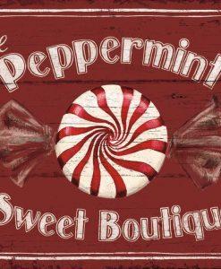 Insegna negozio di caramelle