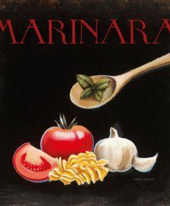 Ricetta illustrata della pasta alla marinara