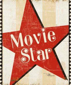 Grafica stella del cinema