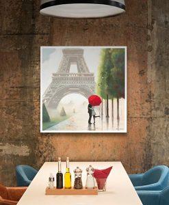 Ambientazione Passeggiata romantica a Parigi