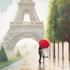 Passeggiata romantica a Parigi