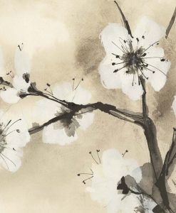 Dipinto con rami in fiore