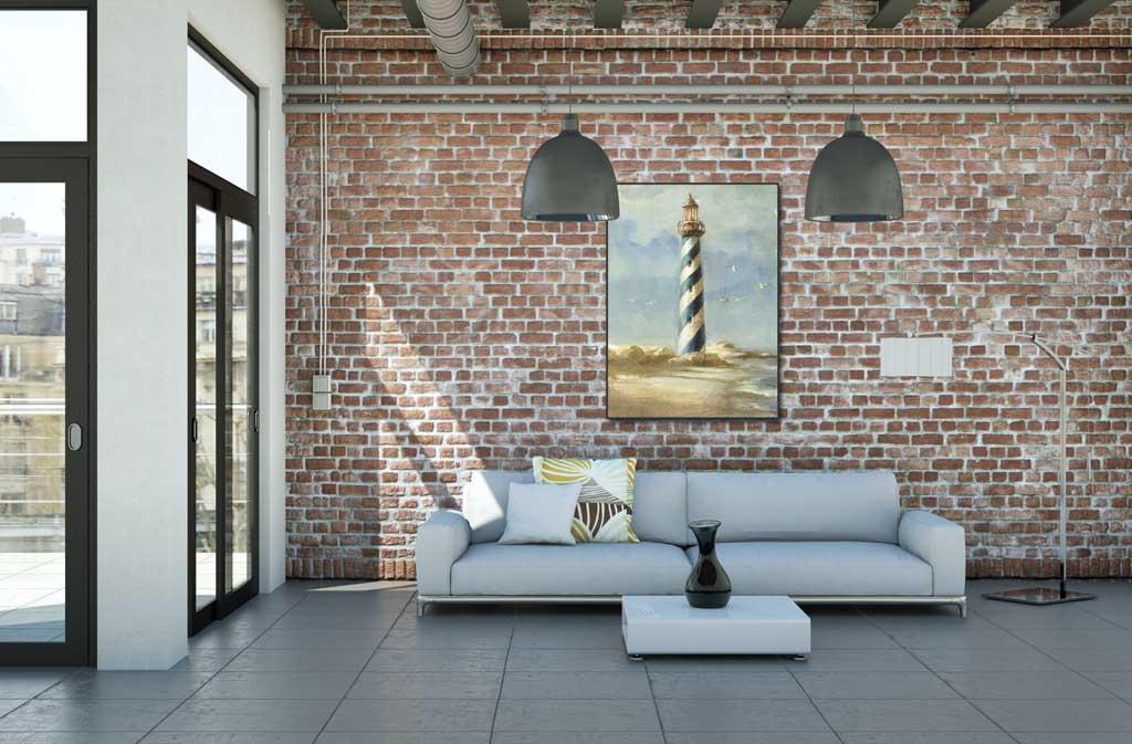 DANHUI NAI - Lighthouse I - ART+PLUS vendita stampe su tela ...