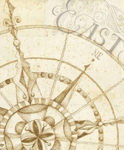 Punti cardinali in stile antico: Est