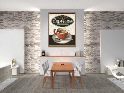 Illustrazione di una tazzina di espresso