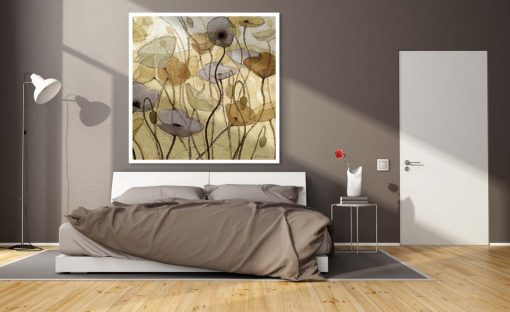 Illustrazione di fiori di campo dai toni pastello