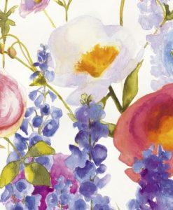 Acquerello di fiori di campo