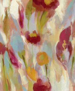 Fiori di campo sfumati dai colori caldi