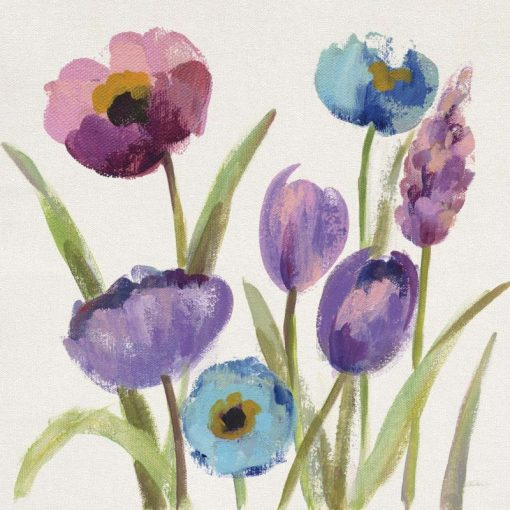 Mix di fiori colorati