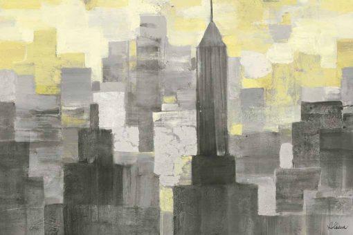 Blocchi di colore che formano grattacieli