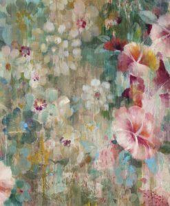 Dipinto di fiori con effetto vintage