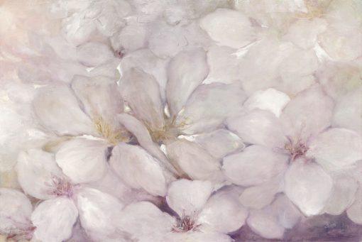 Delicato dipinto di una fioritura di melo