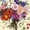 Romantico bouquet con fiori di campo multicolore