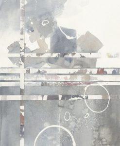 Dipinto con sfumature grigie