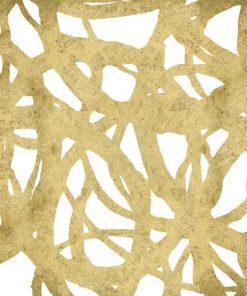 Dipinto di linee concentriche dorate
