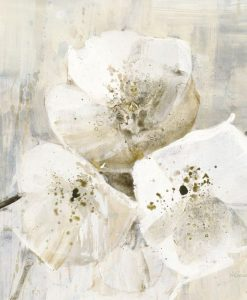 Eleganti rami fioriti con fiori bianchi