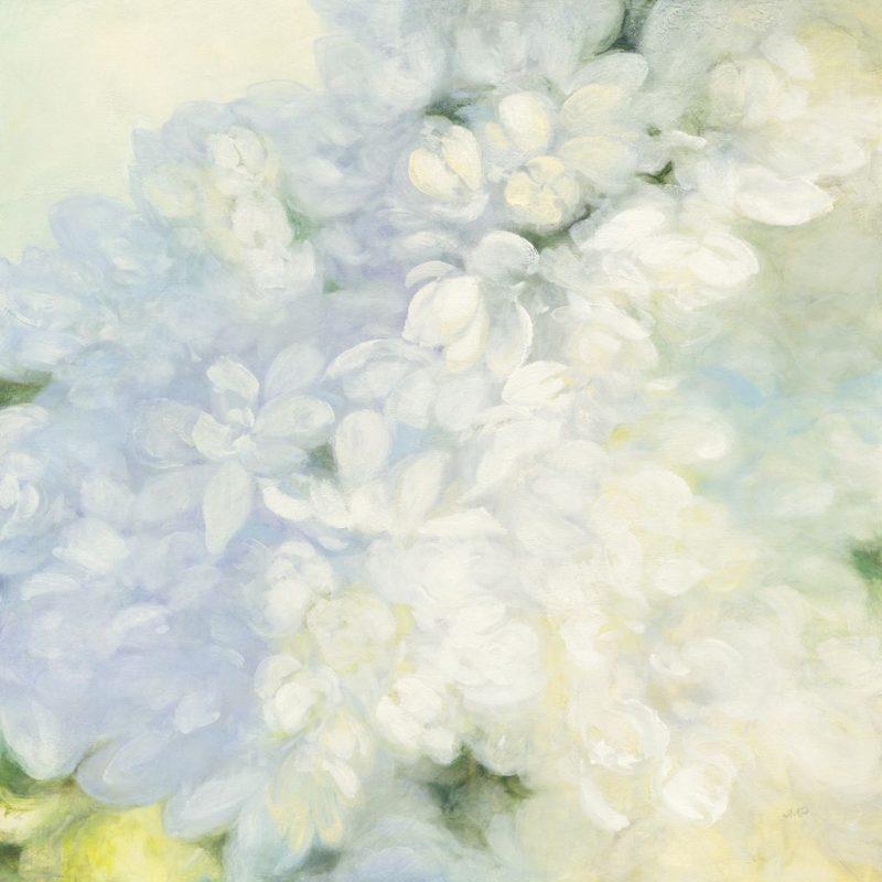 Fiori Bianchi Dipinti.Julia Purinton White Lilacs Bright Art Plus Vendita Stampe Su