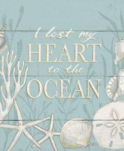 Messaggio con composizione marina