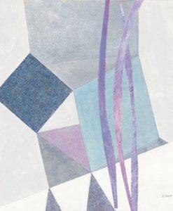 Dipinto con fantasia geometrica