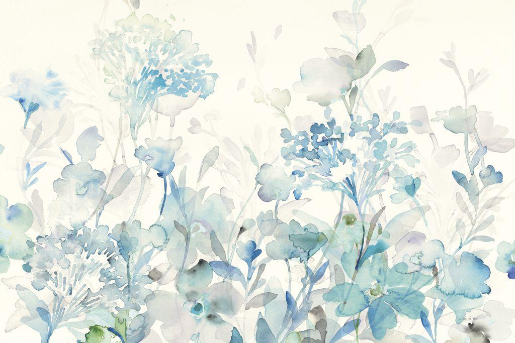 Danhui Nai Translucent Garden Blue Artplus Vendita Stampe Su