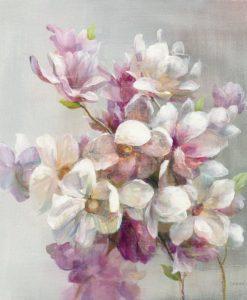 Dettaglio di fiori di magnolia