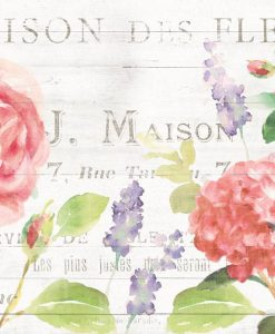 Composizione con vari fiori da giardino color rosa