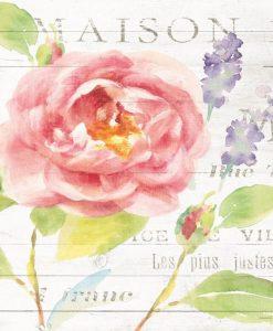 Dettaglio di una composizione con vari fiori da giardino color rosa
