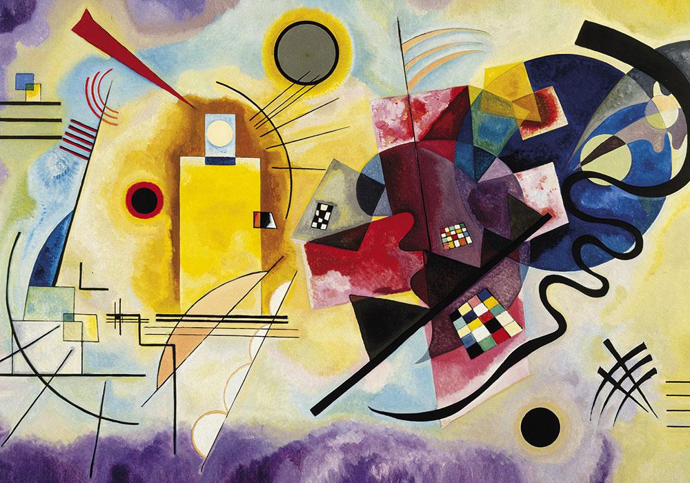 Stampe e quadri dedicati all'astrattismo lirico e astrattismo geometrico